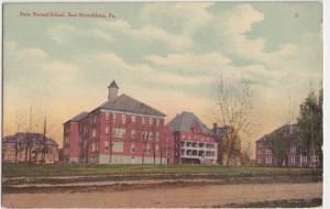 Pennsylvania Pa  c1910 EAST STROUDSBURG State Normal School Campus