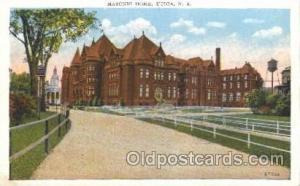 Mason, Mason's Fraternal Organization, Postcard Post Card