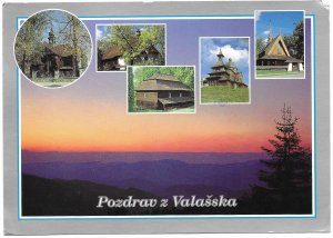 Czech Republic. Valassko scenic. used with postage.