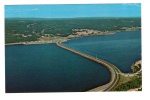 Aerial, Canso Causeway, Cape Breton , Nova Scotia