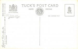Vintage Tucks Real Photo Postcard, Steamer PS Britannia P&A. CAMPBELL LTD BM8