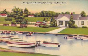 Pennsylvania Espyville The Boat Landing At Pymatuning Lake