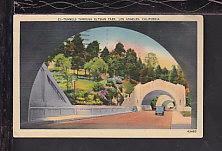 Tunnels,Elysian Park,Los Angeles,CA Postcard