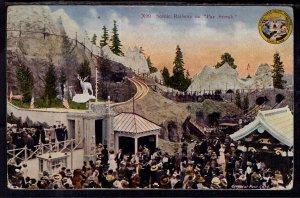 Scenic Railway on Pay Street,Alaska Yukon Exposition BIN
