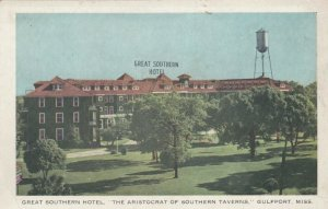 GULFPORT , Mississippi, 1930-40s ; Great Southern Hotel