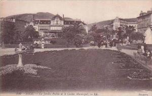 France Nice Le Jardin Public et le Casino Municipal