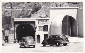 Upper Portal Bingham-Copperfield Tunnel Utah Real Photo