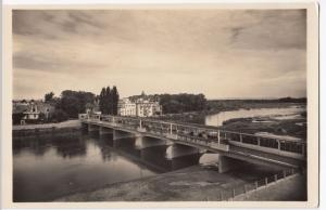 Slovakia; Baths of Piestny, Covered Bridge RP PPC, Unposted c 1950's