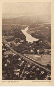 Zeppelin Postcard Germany Aerial View Gustav Eyb - Reinbek Rhein