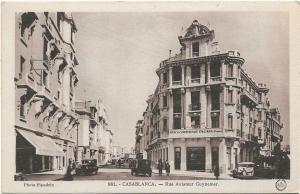Spain Casablanca Rue Aviateur Guynemer 01.26
