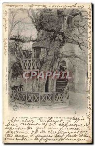 Old Postcard Tree Yvetot Chapels of the big oak d & # 39Allouville
