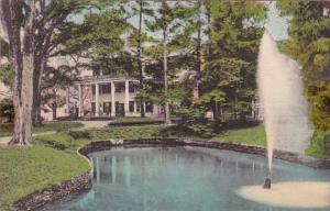 Glen Iris Letchworth State Park P O Castile New York Handcolored Albertype 1945
