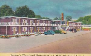 Kentucky Corbin Stewart's Motel & Restaurant