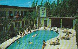 Golden West Hotel Pool Lauderdale Florida 1959