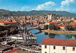 Italy La Spezia Arsenale Militare Bridge General view Pont Panorama