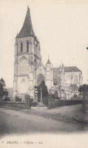 ARQUES, France, 1910-1920s, L'Eglise