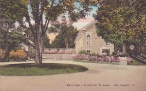 Bennington Historical Museum Bennington Vermont Handcolored Albertype