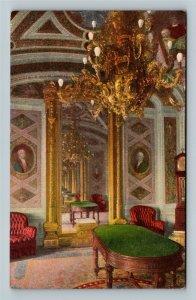 President's Room, US Capitol, Vintage Washington DC Postcard