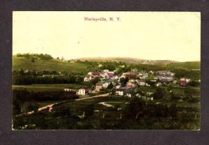 NY Early Vintage view Hurleyville New York Postcard Village Artino Series PC