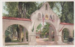 California Riverside Automoblie Entrance Glenwood Mission Inn