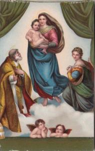 La Madonna di San Sisto Raffaello Dresda