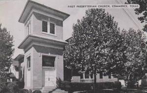 Texas Commerce The First Presbyterian Church Dexter Press Archives