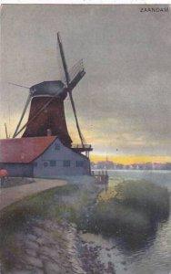 Old Windmill Zaandam Netherlands