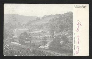 YMCA Park High View Tarentum PA Used c1907