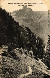 CPA  Epierre (Savoie) - Le Roc Rouge (2588 m) - Le Plan des Meules    (651670)