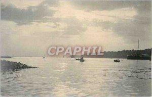 Postcard Old Fishing Boat