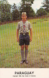 Boy Scouts Of The World In Uniform Paraguay
