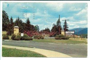 Oteen, NC - Veterans Administration Hospital Entrance