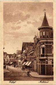 CPA DELFZIJL Martkstraat NETHERLANDS (604133)