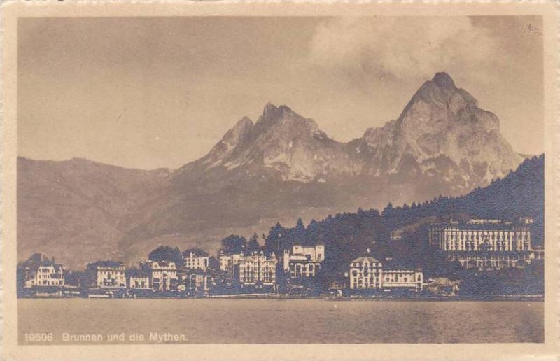 Brunnen und die Mythen, Lucerne, Switzerland,  10-20s