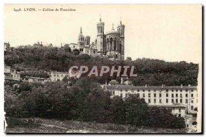 Lyon Postcard Old Hill Fourviere