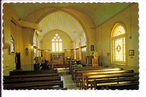 Anglican Church, Interior, St Thomas, Ontario, Land of the Polar Bear Express