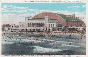 New Jersey Atlantic City Atlantic City Auditorium And Convention Hall