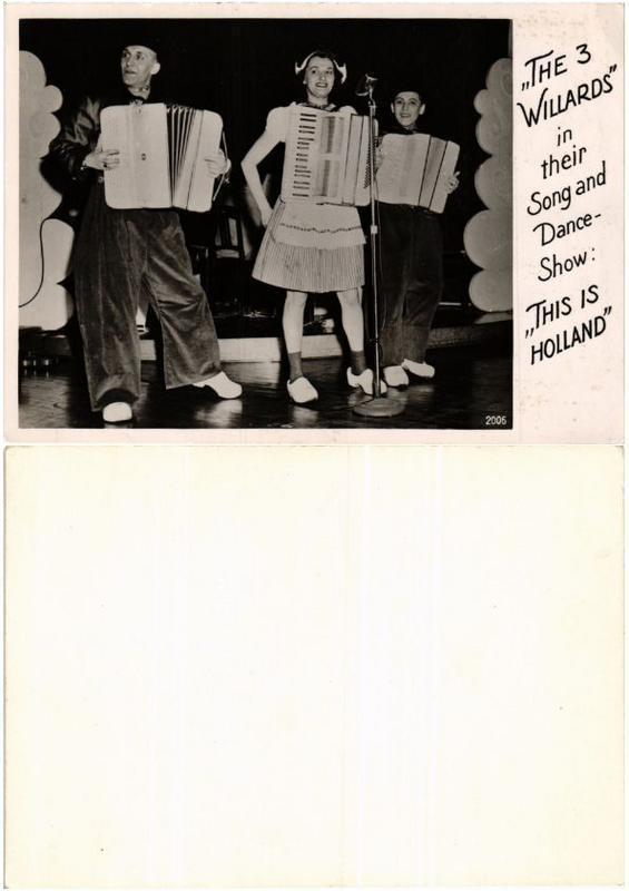 CPA AK The 3 Willards in their Song and Dance-Show FILM STAR (398980)