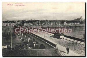 Postcard Metz Old Bridge Of The Dead