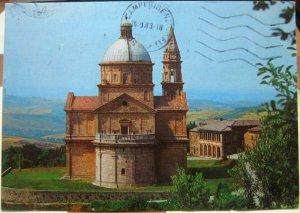 Italy Montepulciano Tempio Della Madonna di S Biagio - posted 1983
