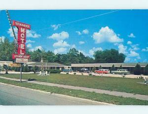 Pre-1980 MOTEL SCENE Jasper - Near Live Oak Florida FL G7467