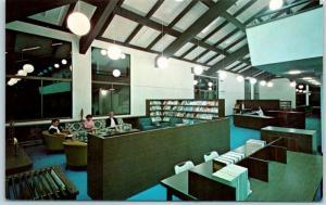 Monterey, CA Postcard Kieran Library Santa Catalina School for Girls c1960s