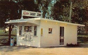 LPS89 STUART Iowa Kirlin Dairy Inn Ice Cream Stand Postcard
