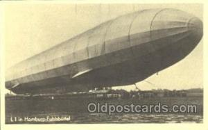 Reproduction Hamburg-Fuhlsbuttel Zeppelin, Zeppelins Postcard Postcards  Re...