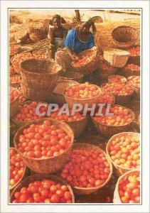 Modern Postcard Burkina Faso Bobo Dioulasso the market