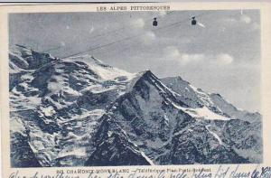 France Chamonix Mont Blanc Teleferique Plan Pratz Brevent