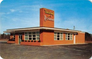 Ahoskie North Carolina Tomahawk Restaurant and Drive Inn Postcard JI657960