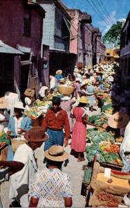 Barbados Bridgetown Vegetable Market