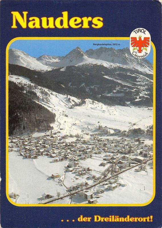 GG10293 ski faszination am reschenpass nauders der dreilanderort tirol  austria