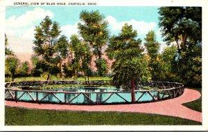 Ohio Castalia General View Of Blue Hole